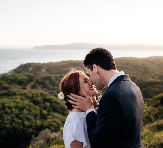 Real Wedding – Shannon & Patrick, Cape Bridgewater VIC