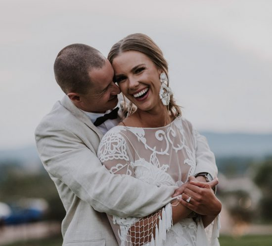 Real Wedding – Callista & Mark, Yarra Glen VIC